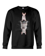 Bull Terrier Dreaming Crewneck Sweatshirt thumbnail