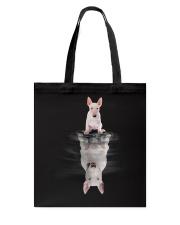 Bull Terrier Dreaming Tote Bag thumbnail