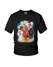 Poodle Summer 0706 Youth T-Shirt thumbnail