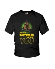 Rottweiler With You 2504 Youth T-Shirt thumbnail
