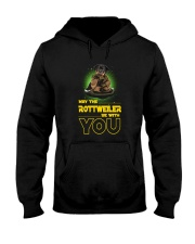 Rottweiler With You 2504 Hooded Sweatshirt thumbnail