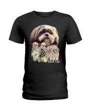 Shih Tzu Awesome Ladies T-Shirt thumbnail