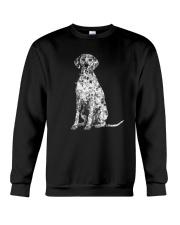 Dalmatian Bling Crewneck Sweatshirt thumbnail