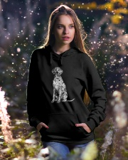 Dalmatian Bling Hooded Sweatshirt lifestyle-holiday-hoodie-front-5