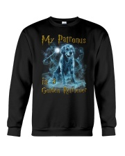 Golden Retriever Patronus Crewneck Sweatshirt thumbnail