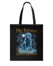 Golden Retriever Patronus Tote Bag thumbnail