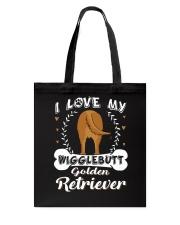 Golden Retriever Butt 1 Tote Bag thumbnail