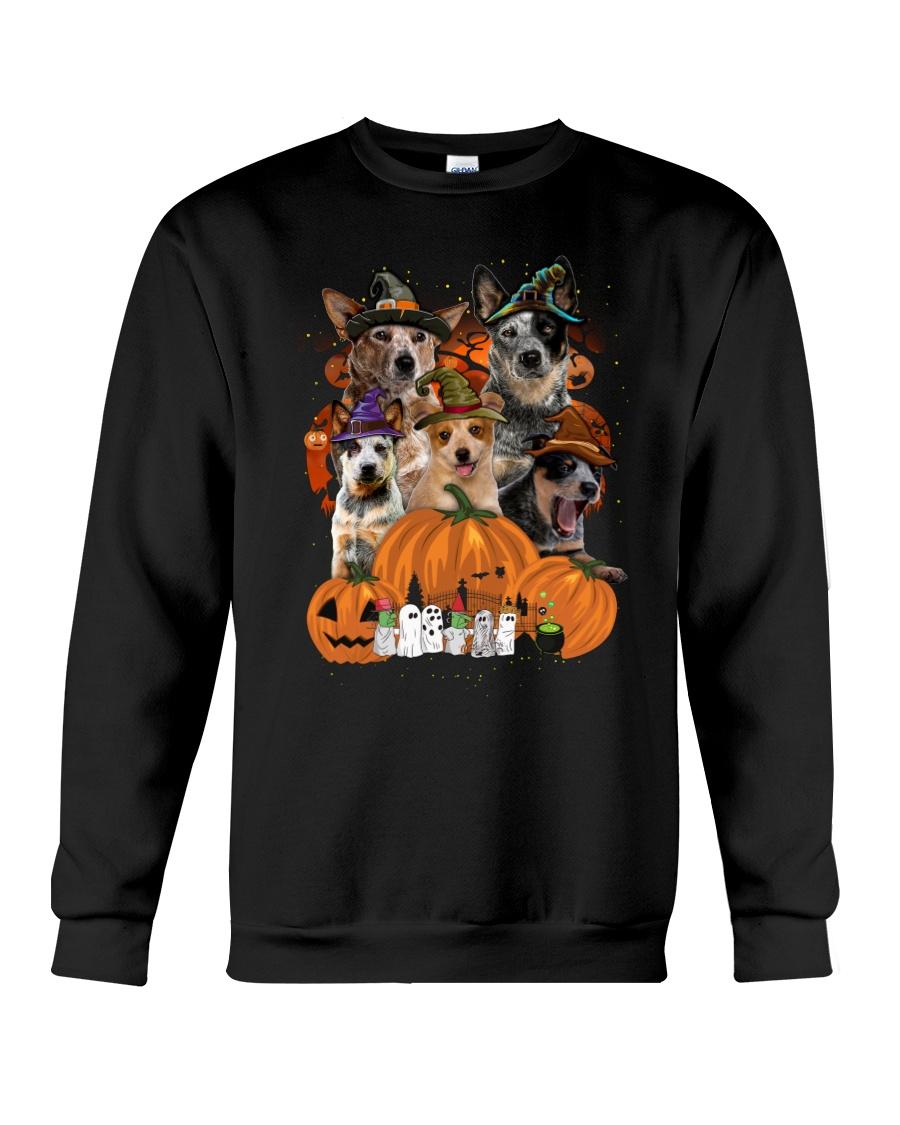 Australian Cattle Dog Great Halloween - 01 Crewneck Sweatshirt