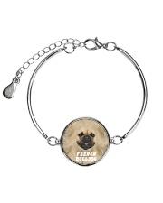 French Bulldog Cool 1406 Metallic Circle Bracelet thumbnail