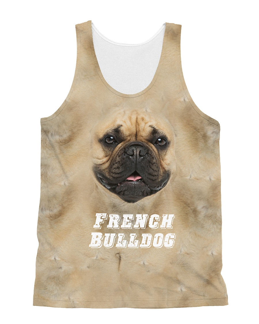French Bulldog Cool 1406 All-over Unisex Tank