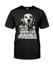 Dalmatian Awesome Classic T-Shirt front
