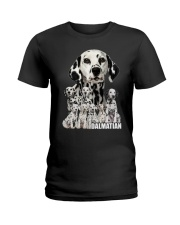 Dalmatian Awesome Ladies T-Shirt tile