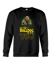 Bulldog With You 2504 Crewneck Sweatshirt thumbnail