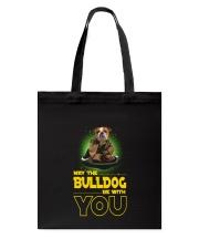 Bulldog With You 2504 Tote Bag thumbnail