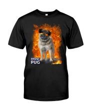 Pug Show 1306 Classic T-Shirt front