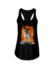 Pug Show 1306 Ladies Flowy Tank tile
