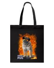 Pug Show 1306 Tote Bag thumbnail