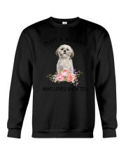 Shih Tzu Love Woman 2104 Crewneck Sweatshirt thumbnail