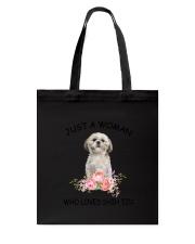 Shih Tzu Love Woman 2104 Tote Bag thumbnail