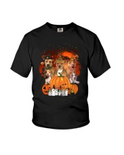 ZEUS - American Pit Bull Terrier Halloween New Youth T-Shirt thumbnail