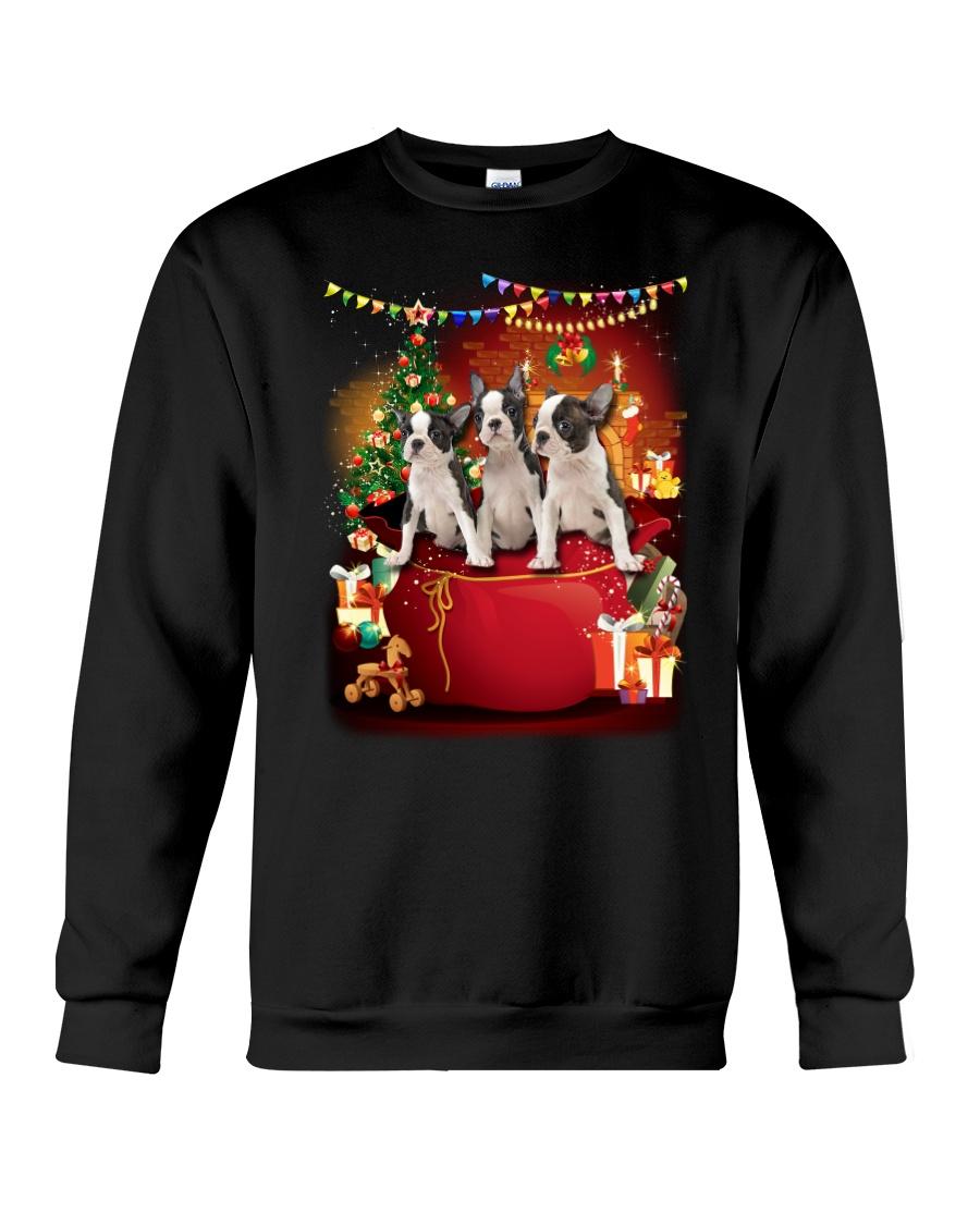 GAEA - Boston terrier Bag - 1010 Crewneck Sweatshirt