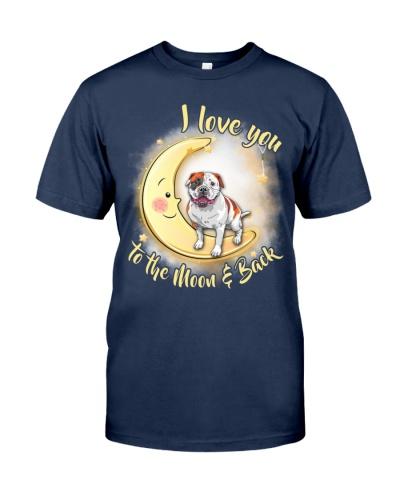 Bulldog Love Moon
