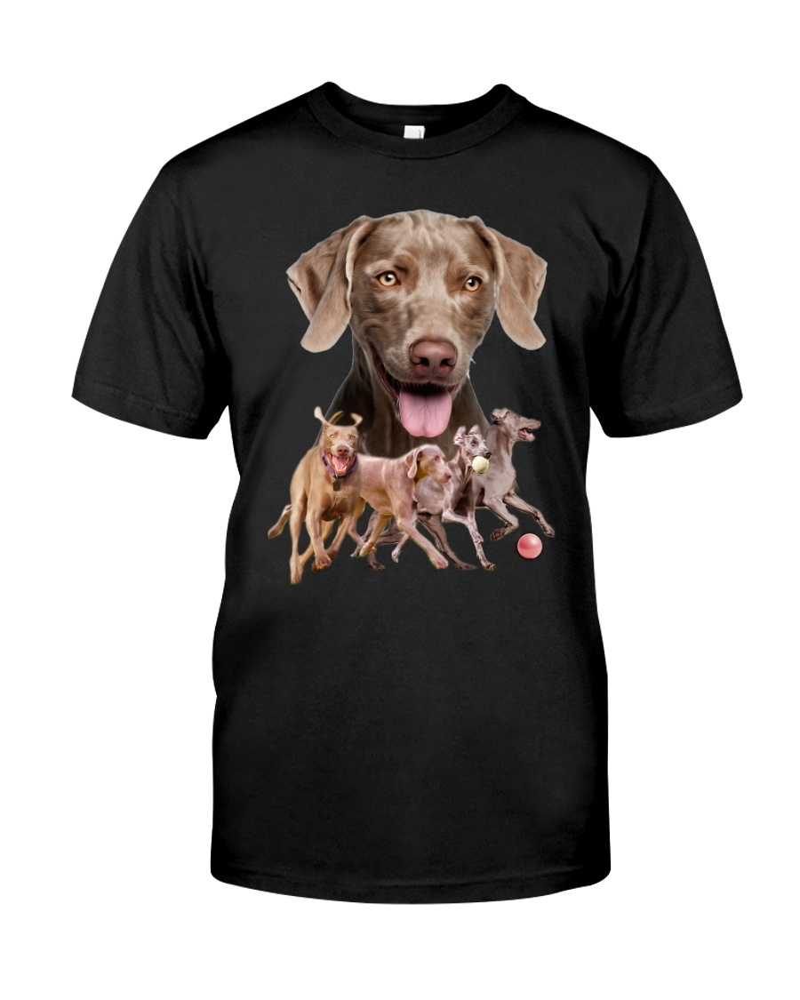 GAEA - Weimaraner Running 1603 Classic T-Shirt