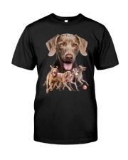 GAEA - Weimaraner Running 1603 Classic T-Shirt front