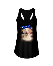Labrador Retriever USA 0606 Ladies Flowy Tank thumbnail