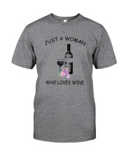 Wine Love Woman 2104 Classic T-Shirt thumbnail