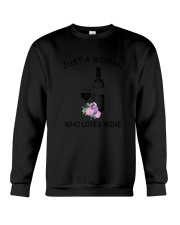 Wine Love Woman 2104 Crewneck Sweatshirt thumbnail