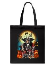 Doberman Pinscher Dracula - 2208 - 25 Tote Bag thumbnail