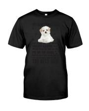 Maltese Human Dad 0206 Classic T-Shirt thumbnail