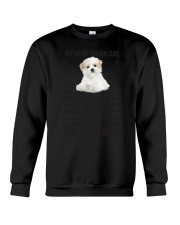 Maltese Human Dad 0206 Crewneck Sweatshirt thumbnail