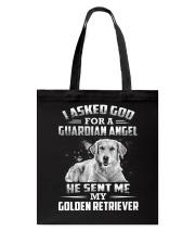Golden Retriever Angel Tote Bag thumbnail
