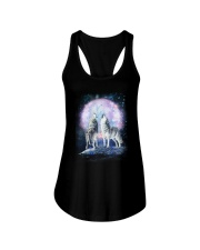 Wolf Moon Bling 0205 Ladies Flowy Tank thumbnail