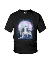 Wolf Moon Bling 0205 Youth T-Shirt thumbnail