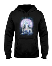 Wolf Moon Bling 0205 Hooded Sweatshirt thumbnail