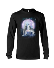 Wolf Moon Bling 0205 Long Sleeve Tee thumbnail