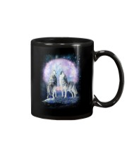 Wolf Moon Bling 0205 Mug tile