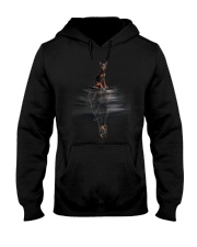 Doberman Pinscher Dream Hooded Sweatshirt thumbnail