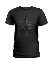 Doberman Pinscher Dream Ladies T-Shirt thumbnail
