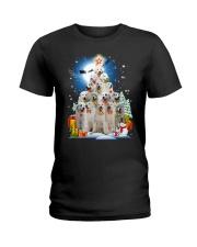 GAEA - Great Pyrenees Pine - 1810 - 101 Ladies T-Shirt thumbnail