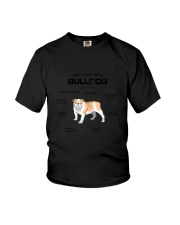 Bulldog Anatomy 2505 Youth T-Shirt thumbnail