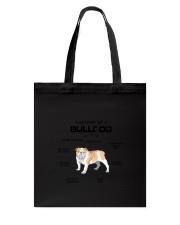 Bulldog Anatomy 2505 Tote Bag thumbnail