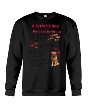 Dogue de Bordeaux Poem 0506 Crewneck Sweatshirt tile
