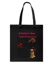 Dogue de Bordeaux Poem 0506 Tote Bag tile