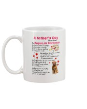 Dogue de Bordeaux Poem 0506 Mug back