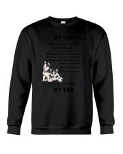 Siberian Husky My Dad 0506 Crewneck Sweatshirt thumbnail