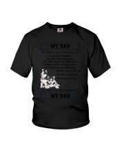 Siberian Husky My Dad 0506 Youth T-Shirt tile